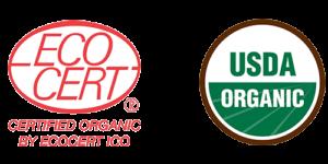 certified ecocert & usda organic