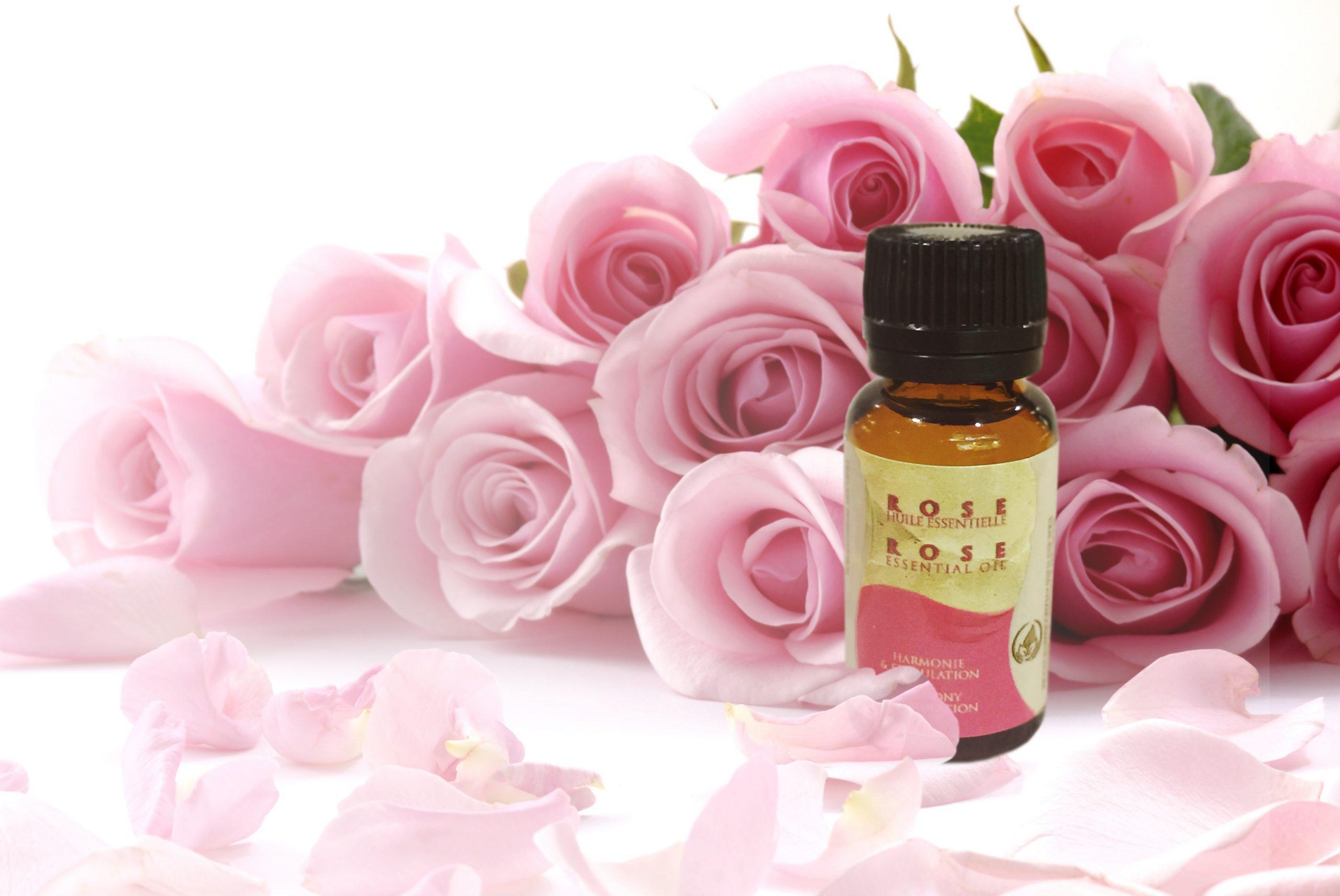 Huile Essentielle de Rose par Atlas Cosmetics
