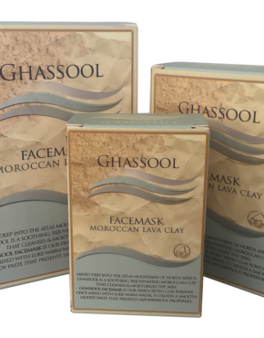 Ghassool FaceMask - Moroccan Lava Clay