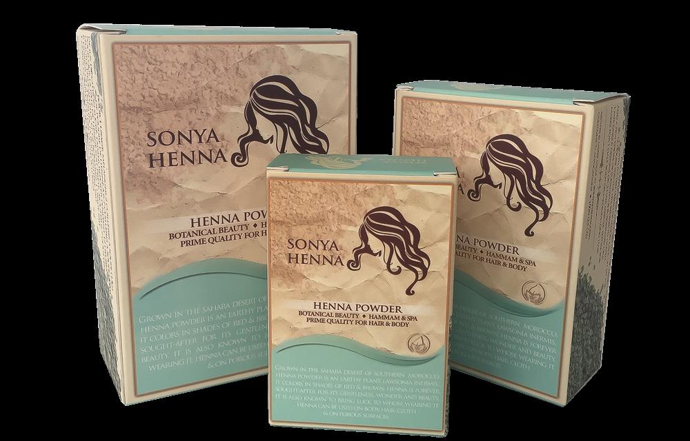 Sonya Henna Poudre de Henné